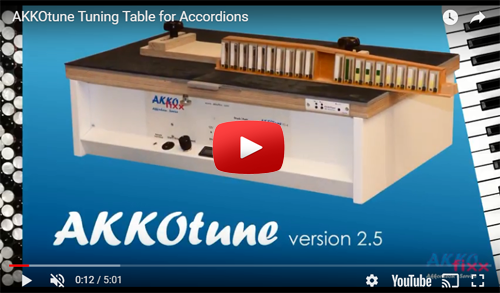 Introduction to AKKOtune tuning table