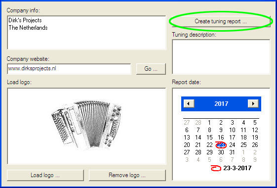 Create tuning reports