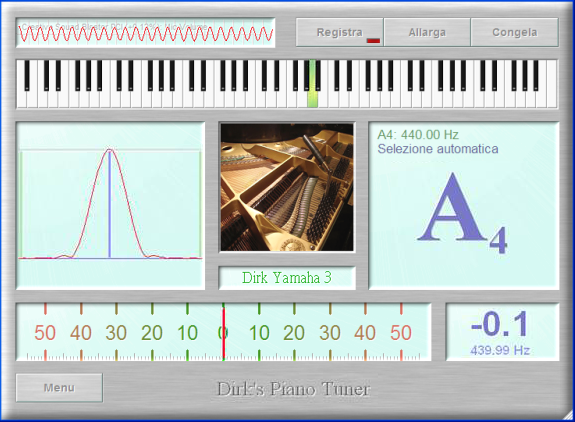 Regolare un pianoforte a uno standard professionale for Software di piano planimetrico