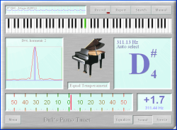 Dirk's Piano Tuner 4.0 full
