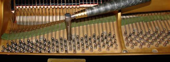 Tuning del pianoforte. Tuning Hammer