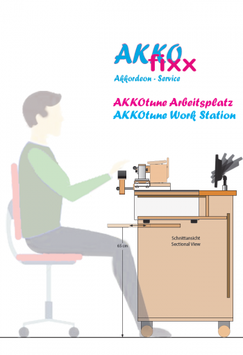 AKKOtune Work Station - Lato