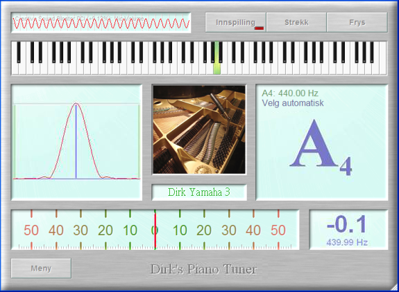 Dirk's Piano Tuner v4.0