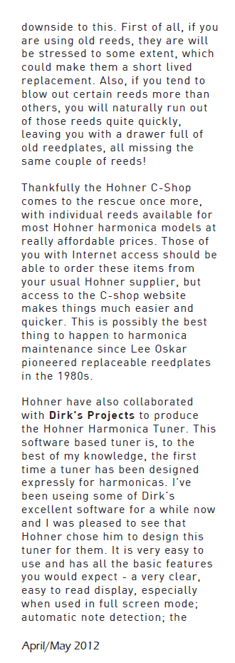 Harmonica World Magazine
